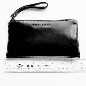 Bobbie Brown Black Makeup Clutch Wristlet